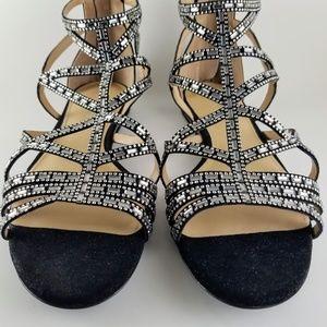 ANTONIO MELANI Eliston Rhinestone Sandals NWOT